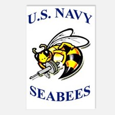 us navy seabees Postcards (Package of 8)