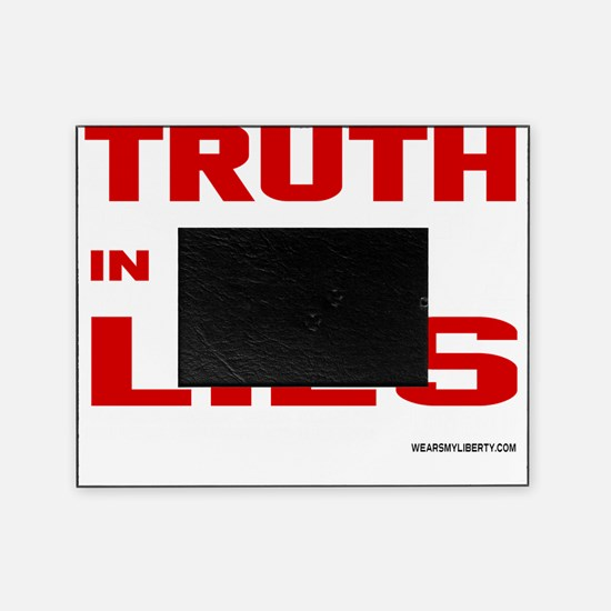Truth Is Treason Picture Frame
