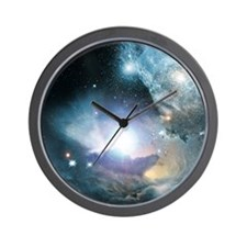 First Stars Wall Clock