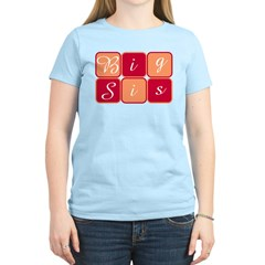 Big Sis (Red/Orange) Women's Light T-Shirt