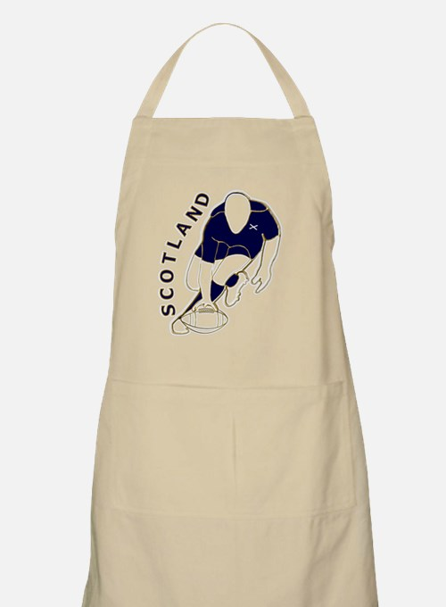 Scotland rugby try score Apron