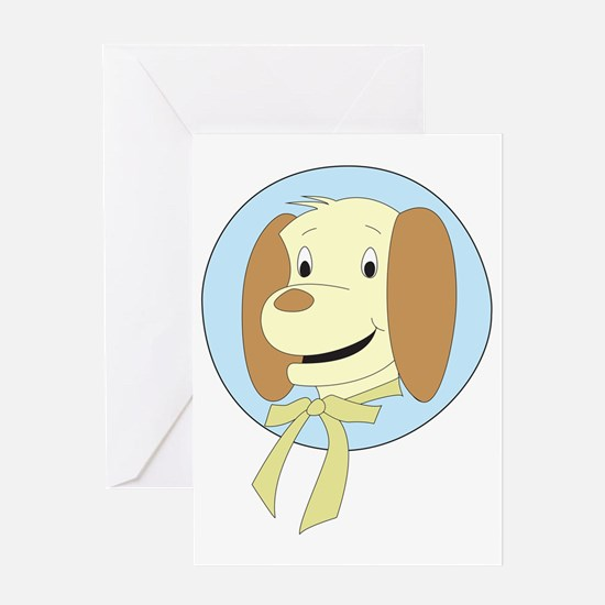 REF Pup Pup Greeting Card