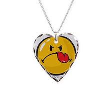 Detest Smiley Necklace