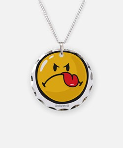 Detest Smiley Necklace