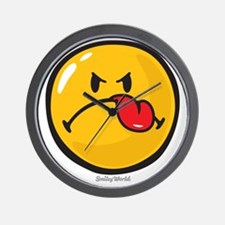 Detest Smiley Wall Clock