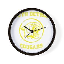 South Detroit Cougars Wall Clock