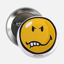 "Vexed Smiley 2.25"" Button"