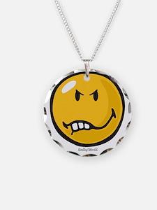 Vexed Smiley Necklace