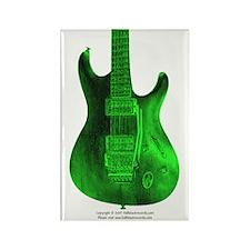 """""""Toxic"""" Guitar Rectangle Magnet"""