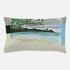 view of Grande Anse Beach Pillow Case