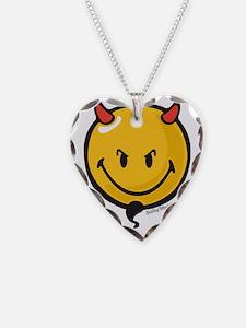 Devilish Smiley Necklace