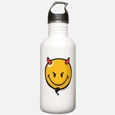 Devilish Smiley Water Bottle