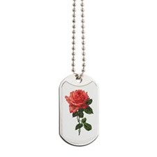 Victorian Rose Dog Tags