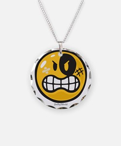 Aggression Smiley Necklace