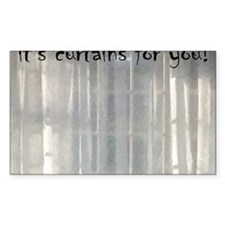 its curtains for you! Decal