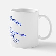 Gloucester Gig Rowers - blue fill Mug