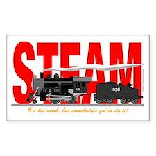 Steam Logo Decal