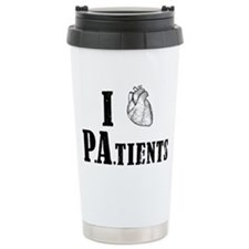 I Heart Patients Travel Coffee Mug
