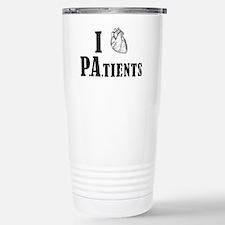 I Heart Patients Travel Mug