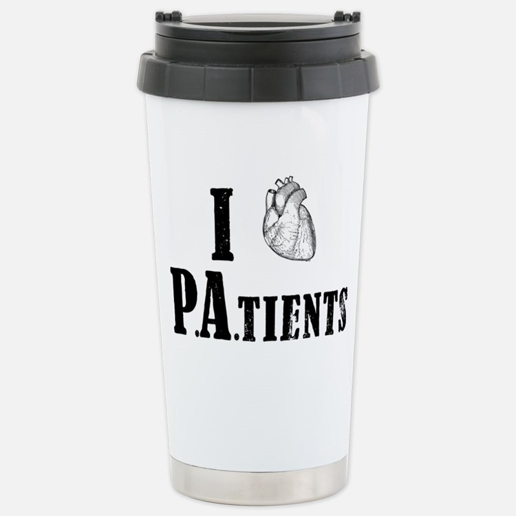 I Heart Patients Travel Mug