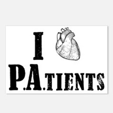 I Heart Patients Postcards (Package of 8)