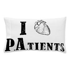 I Heart Patients Pillow Case