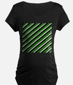 Team Colors 3...Green Maternity T-Shirt