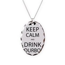 Keep Calm and Drink Bourbon Necklace