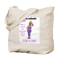 debbie purple Tote Bag