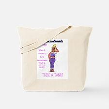 debbie purple Tote Bag