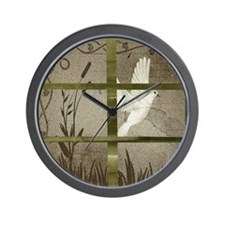 Window View Wall Clock