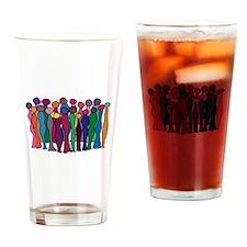 Circle Of Goddesses Drinking Glass
