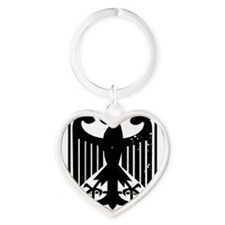 Logo Large blackfeet no text Heart Keychain