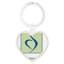 12 Heart Keychain