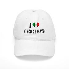 I Love Cinco de Mayo Baseball Cap
