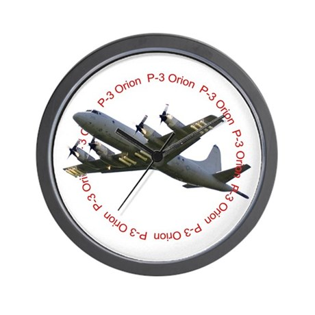 P-3 Orion Wall Clock