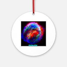 Keplers Supernova 1680 Round Ornament