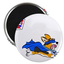 Corgi Super Hero Magnet