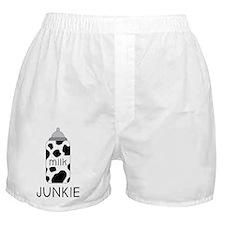 Milk Junkie Boxer Shorts