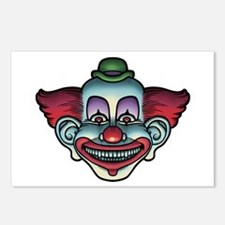 HappyEvilClown Postcards (Package of 8)