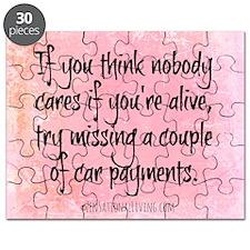 Nobody Cares (Funny Zen) Puzzle