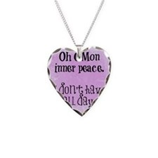 Rushing Inner Peace (Funny Ze Necklace