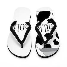 Milk-aholic Flip Flops