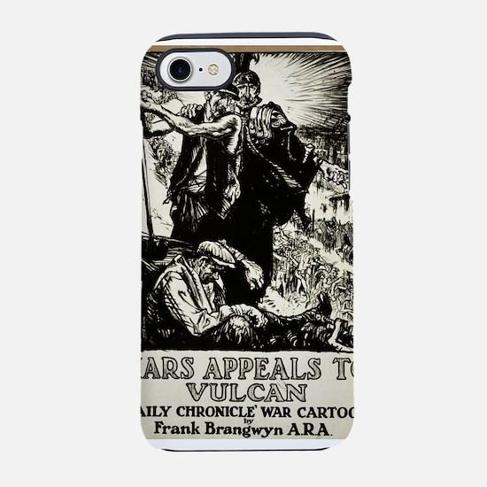 Mars Appeals To Vulcan - Frank Branqwyn - Poster -