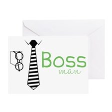 Boss Man Greeting Card