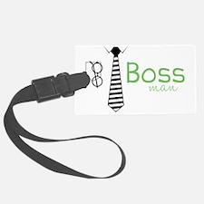 Boss Man Luggage Tag