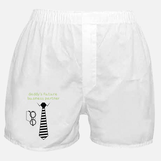 Daddy's Future Business Partner Boxer Shorts