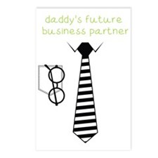 Daddy's Future Business P Postcards (Package of 8)