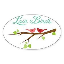 Love Birds Decal