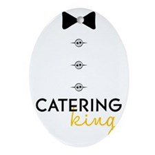 Catering King Oval Ornament